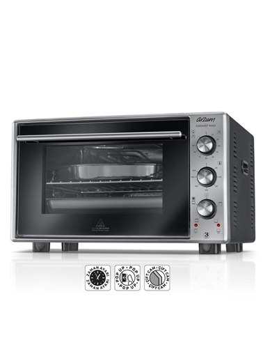 AR2002 Cookart Maxi 50 Lt Çift Camlı Fırın-Arzum